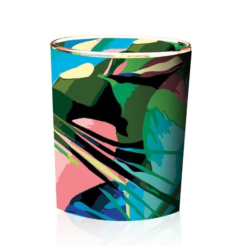 Scented Candle with natural wax Sieste Tropicale