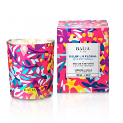 Scented Candle with natural wax Délirium Floral