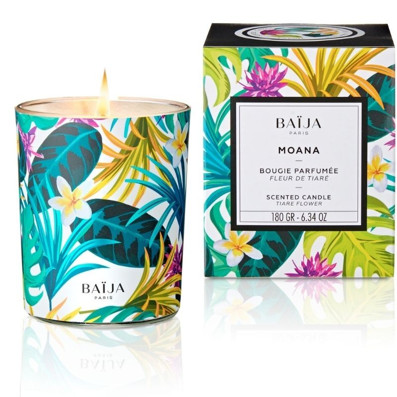 Scented Candle with natural wax Moana