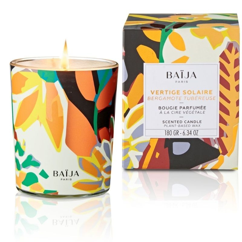 Scented Candle with natural wax Vertige Solaire