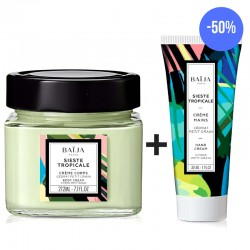Body cream + Hand Cream Sieste Tropicale