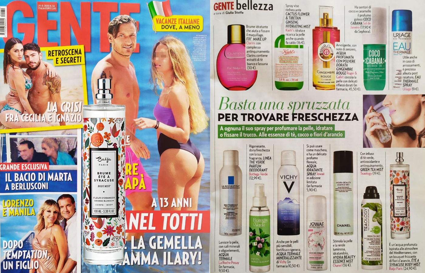 BODY MIST ETE A SYRACUSE
